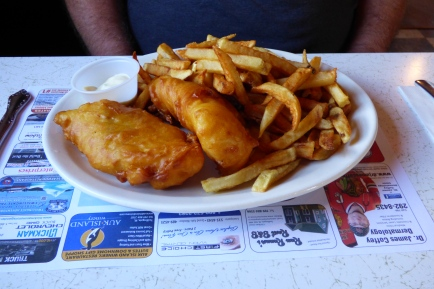 D&T Restaurant, Twillingate, NL June 2016